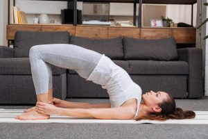 bridge pose yoga for sciatica pain