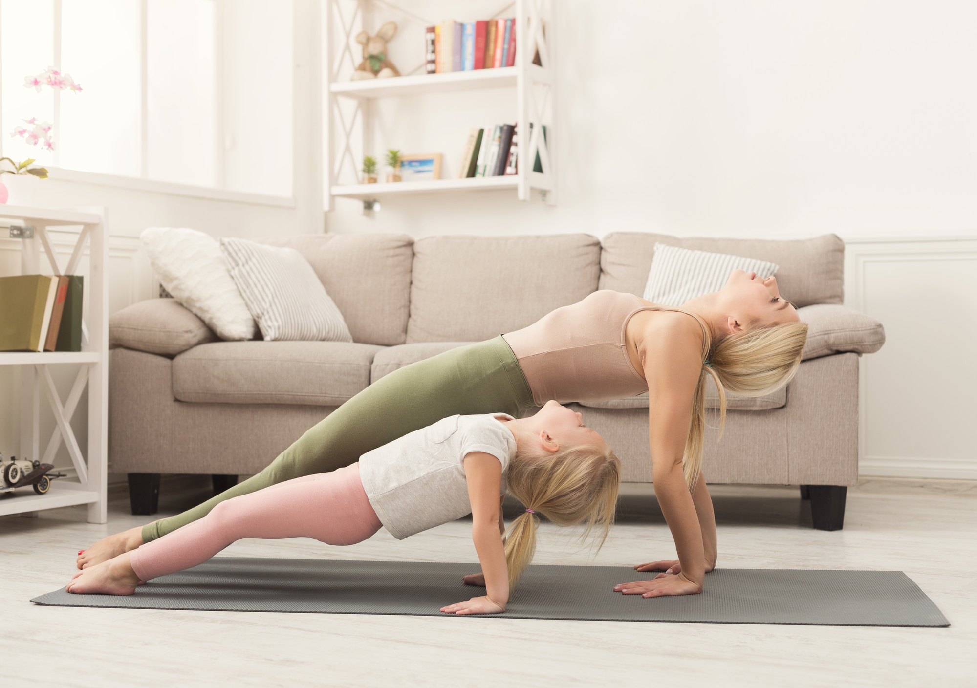 can you lose weight with doing yoga at home