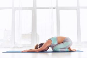 yoga for lower back pain childs pose